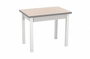 Стол обеденный раскладной белый / авола белая